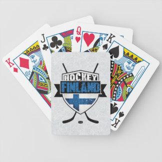 Finnish Hockey Shield Suomi Card Deck