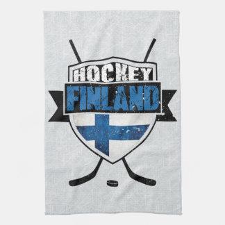 Finnish Hockey Shield Suomi Tea Towels