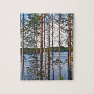 Finnish Lakeland Jigsaw Puzzle