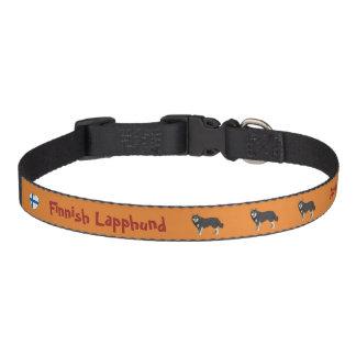 Finnish Lapphund dog collar