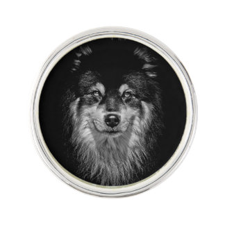 Finnish Lapphund Lapel Pin