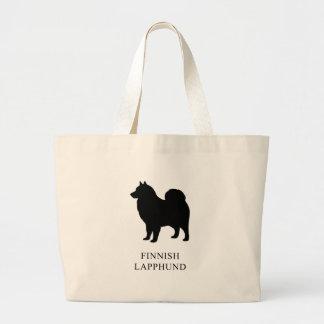 Finnish Lapphund Large Tote Bag