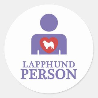 Finnish Lapphund Round Sticker