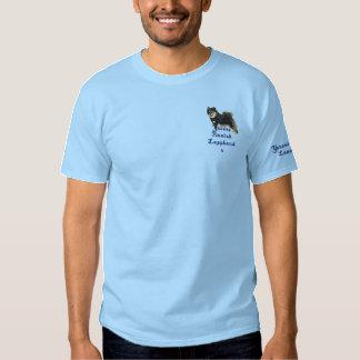 Finnish Lapphund  - Yutori Embroidered T-Shirt