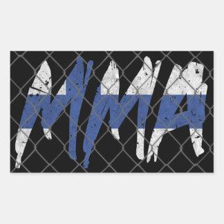Finnish MMA Sticker