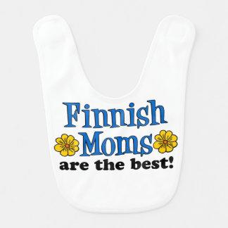 Finnish Moms Are The Best baby bib