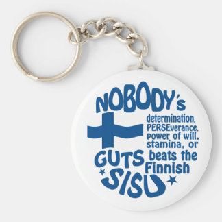 Finnish SISU key chain