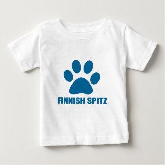FINNISH SPITZ DOG DESIGNS BABY T-Shirt