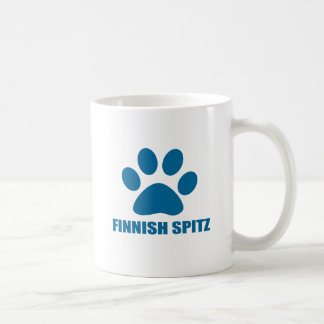 FINNISH SPITZ DOG DESIGNS COFFEE MUG