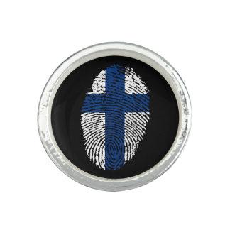Finnish touch fingerprint flag