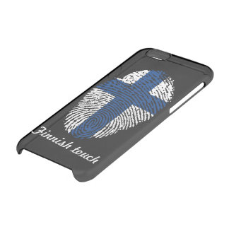 Finnish touch fingerprint flag clear iPhone 6/6S case