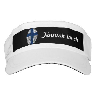 Finnish touch fingerprint flag visor