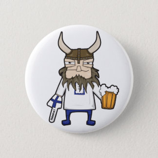 Finnish Viking Button