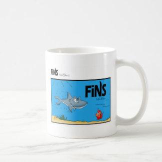 Fins Comic Coffe Mug