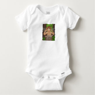 Finwe - Elven Boy sticking tongue out Baby Onesie