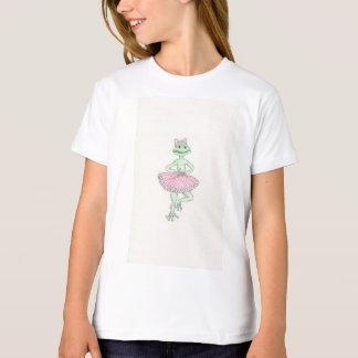 Fiona Frog Girls' American Apparel Organic T-Shirt
