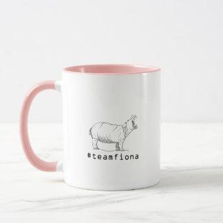 Fiona The Baby Hippo #teamfiona Hippopotamus Mug