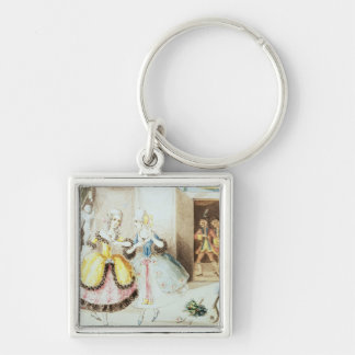 Fiordiligi and Dorabella Key Ring