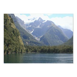 Fiordland National Park, New Zealand 5x7 Paper Invitation Card