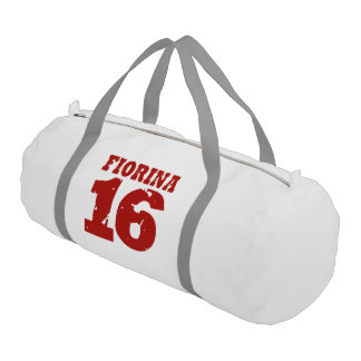 Fiorina 16 Campaign Jersey Distressed Gym Duffel Bag