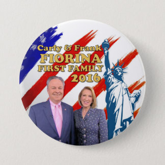 Fiorina First Family 2016 7.5 Cm Round Badge
