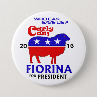 Fiorina for President 2016 7.5 Cm Round Badge