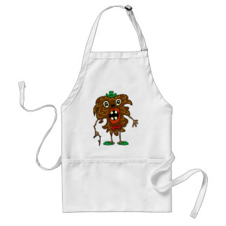 Fir-cone monster funny Apron
