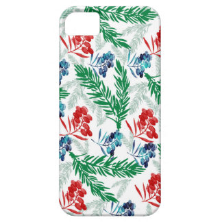Fir Tree Branches with Berries iPhone 5 Case