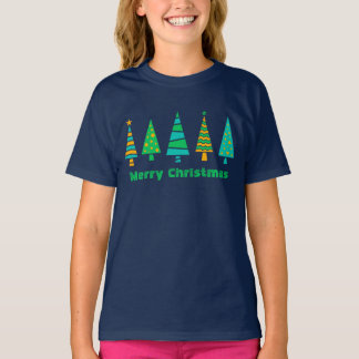 Fir Trees Christmas T-Shirt (Child)