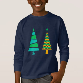 Fir Trees Long Sleeve T-Shirt (Child)