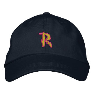 Fire #1 Letter R Baseball Cap