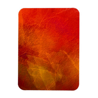 Fire - Abstract Art in Orange, Yellow, Red Vinyl Magnet