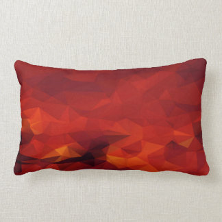 Fire Abstract Lumbar Pillow