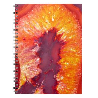 Fire Agate Notebooks
