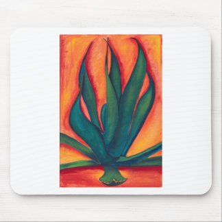 Fire Agave Mouse Pad