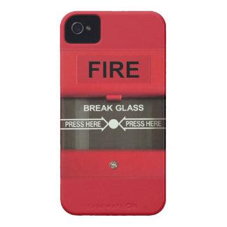 Fire Alarm iPhone 4 Cases