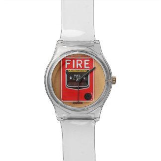 Fire Alarm Handle Watch