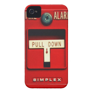 Fire alarm iPhone 4 Case-Mate cases