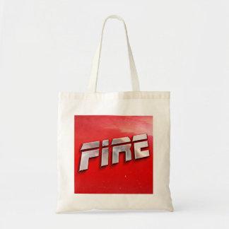 Fire Album Cover Tote Bag