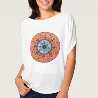 Fire Altar Mandala Top, T-shirt