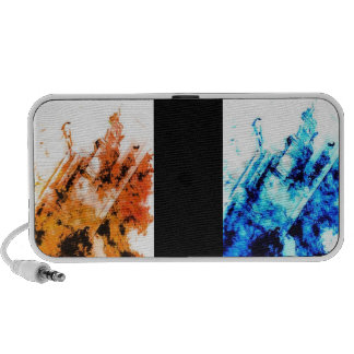Fire an Ice Notebook Speaker