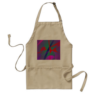 Fire and Calmness Abstract Expression Apron