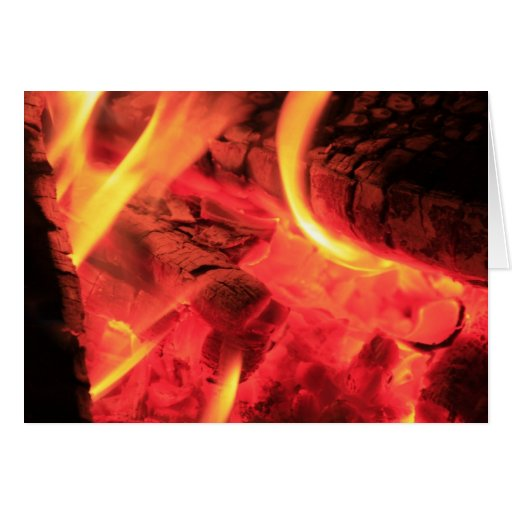 Fire and Coals Card