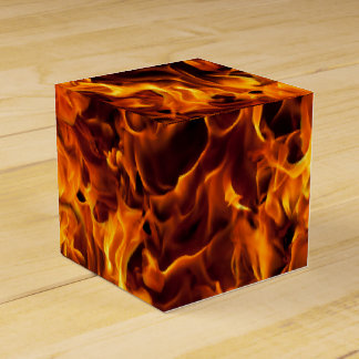 Fire and Flame Pattern Favour Box