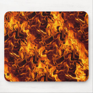Fire and Flame Pattern Mouse Pad