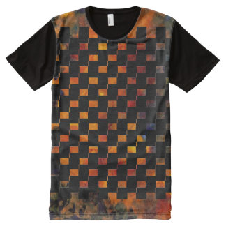 Fire and Flames Flaming Dragons Lair Gaming All-Over Print T-Shirt
