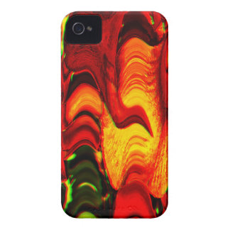 fire and gold iPhone 4 cover