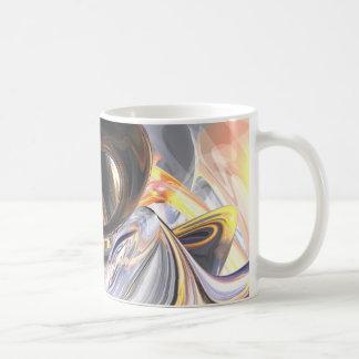 Fire and Ice Abstract Mug