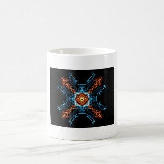 Fire and Ice Basic White Mug