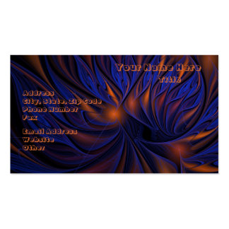 Fire and Ice Business Cards
